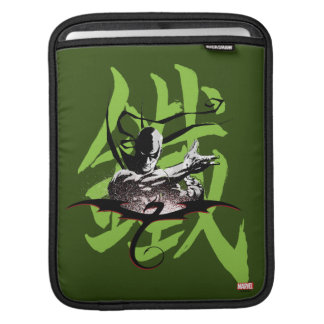 Iron Fist Chinese Name Graphic Sleeve For iPads