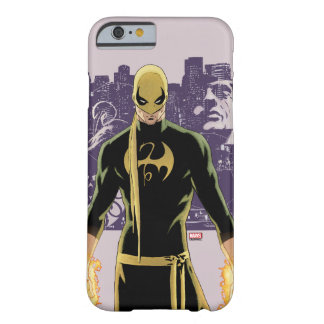 Iron Fist City Silhouette Barely There iPhone 6 Case