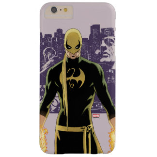 Iron Fist City Silhouette Barely There iPhone 6 Plus Case