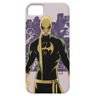 Iron Fist City Silhouette iPhone SE/5/5s Case