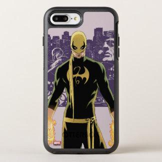 Iron Fist City Silhouette OtterBox Symmetry iPhone 7 Plus Case