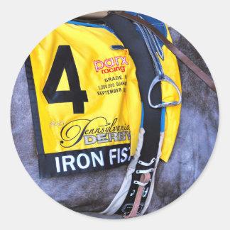 Iron Fist Classic Round Sticker
