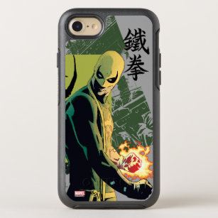 Iron Fist Comic Book Graphic OtterBox Symmetry iPhone 8/7 Case