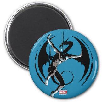 Iron Fist Dragon Landing Magnet