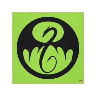Iron Fist Logo Canvas Print