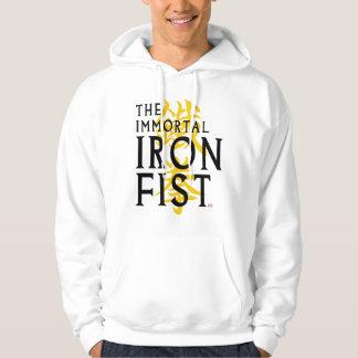 Iron Fist Name Graphic Hoodie