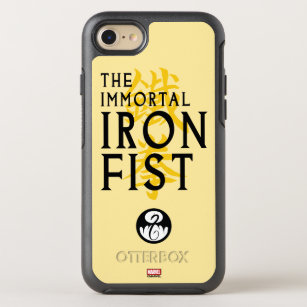 Iron Fist Name Graphic OtterBox Symmetry iPhone 8/7 Case