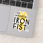 Iron Fist Name Graphic Sticker