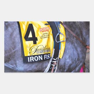 Iron Fist Rectangular Sticker