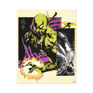 Iron Fist the Living Weapon Canvas Print
