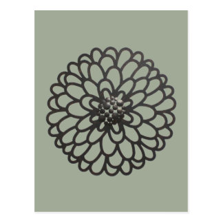 Iron Flower Postcard