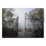 Iron gate greeting cards