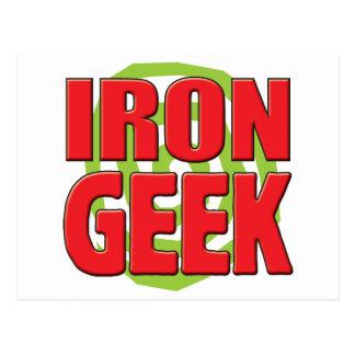 Iron Geek Postcard
