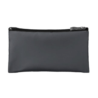 Iron Grille Grey Charcoal Dark Grey French Chateau Cosmetic Bag