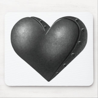 Iron Heart Mouse Pad