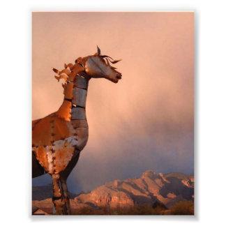 """Iron Horse"" #1 of a Series. Photo Print"
