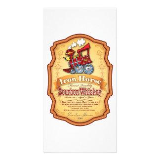 Iron Horse Bourbon Picture Card