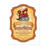 Iron Horse Bourbon Post Card