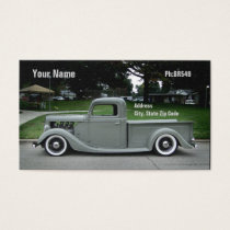 Iron Horse Business Card
