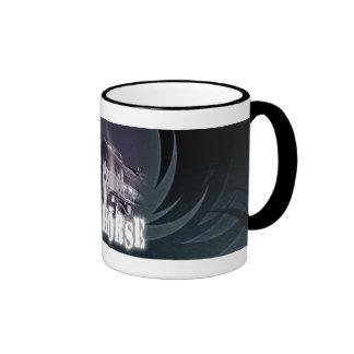 Iron Horse Coffee Cup Ringer Coffee Mug