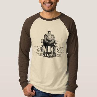 Iron Horse Distillery Long Sleeve Raglan T-Shirt