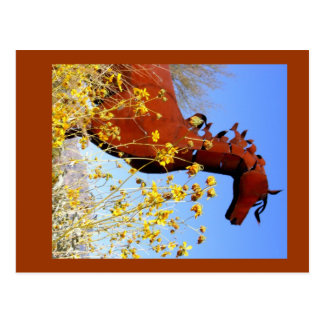 """Iron Horse"" Postcard"