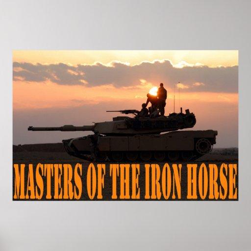 Iron Horse Print
