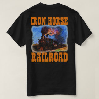 IRON HORSE RALROAD COLOR T-Shirt