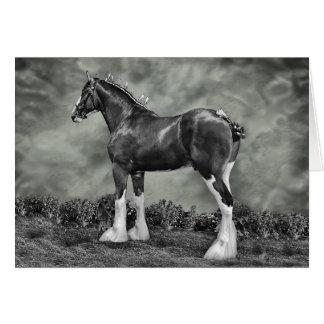 Iron Horse Steele Greeting Cards