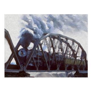 Iron Horses & Iron Bridges Post Card