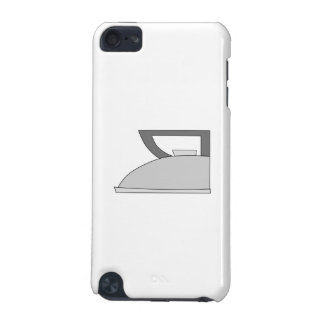 Iron illustration Gray and Black on White iPod Touch 5G Cases