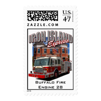 Iron Island Express (Engine 28) Postage