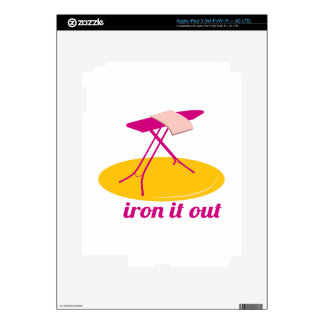 Iron It Out Skin For iPad 3