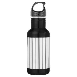 Iron Jail Bars Stainless Steel Water Bottle