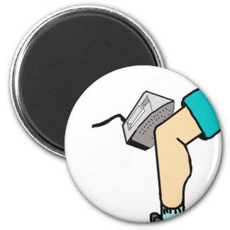Iron Knee Magnet