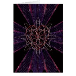 Iron Lace Heart Card