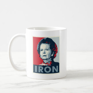 Iron Lady Classic White Coffee Mug