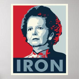 Iron Lady Print