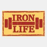 Iron Life Sticker