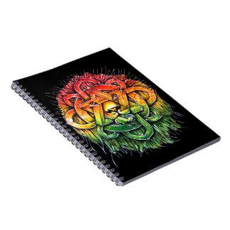 Iron Lion Zion - M1 Spiral Notebook