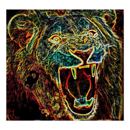 Iron Lion Zion Print