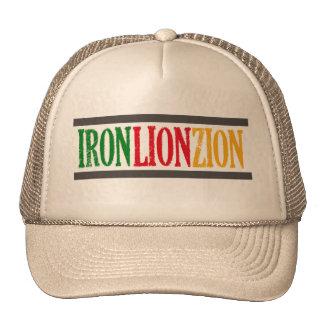 Iron Lion Zion Trucker Hat