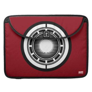 Iron Man Arc Icon MacBook Pro Sleeve