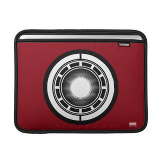 Iron Man Arc Icon MacBook Sleeve