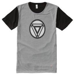 Iron Man Arc Reactor Icon All-Over-Print T-Shirt