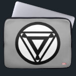 "Iron Man Arc Reactor Icon Laptop Sleeve<br><div class=""desc"">Avengers Classics 