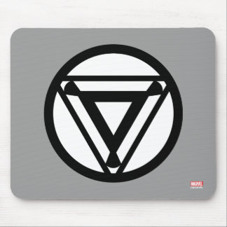 Iron Man Arc Reactor Icon Mouse Pad