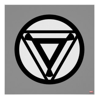 Iron Man Arc Reactor Icon Poster