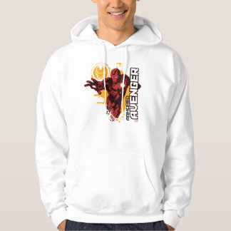 Iron Man Armored Avenger Graphic Hoodie