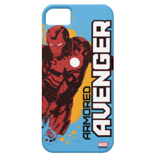 Iron Man Armored Avenger Graphic iPhone SE/5/5s Case